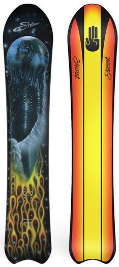 Bataleon Stewart x Bataleon Camel Toe 3BT Snowboard