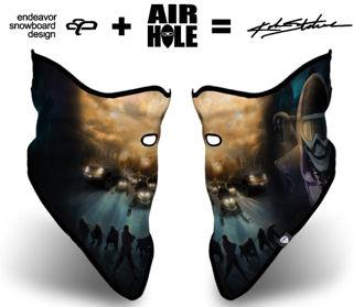 Matching ninja mask for added steeze...check!