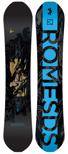 Rome Marshal 2018 Snowboard Review